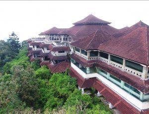 Заброшенный отель Бедугул