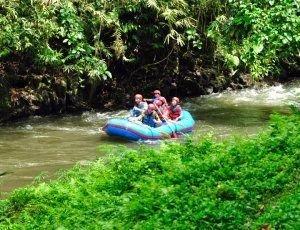 Рафтинг по реке Аюнг Бали