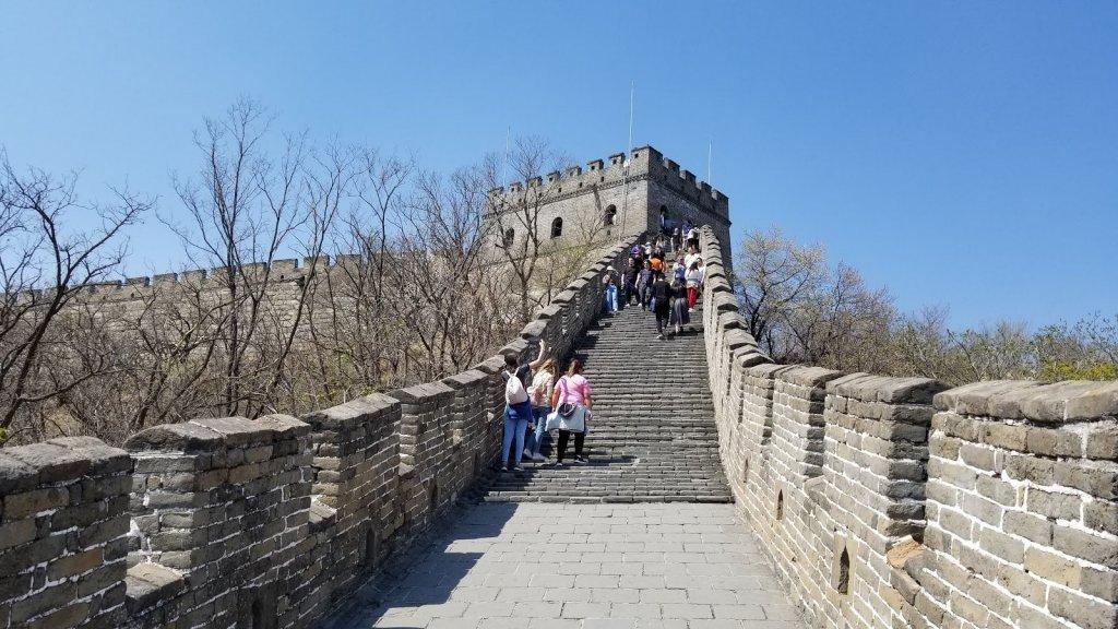 Достопримечательность Mutianyu Great Wall в Пекине (Китай