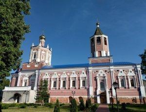 Солотчинский женский монастырь Рождества Богородицы