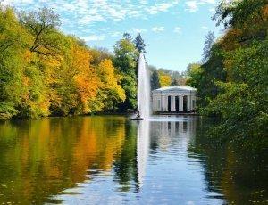Павильон Флора парка Софиевка
