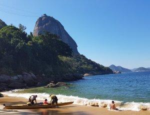 Фото Красный пляж