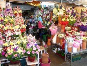 Цветочный рынок Пак Хлонг Талат
