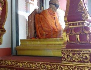 Фото Мумифицированный монах