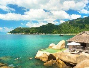 Залив Ninh Van Bay