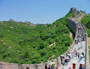 Участок Китайской стены Бадалин