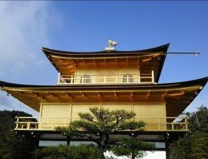 Храм Золотой павильон Кинкаку-дзи
