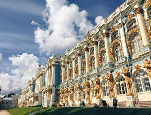 Янтарная Комната в Екатерининском Дворце