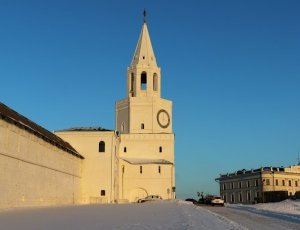 Казанская Спасская башня