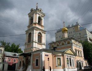 Храм Воскресения Словущего на Успенском Вражке