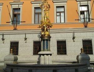 Памятник принцессе Турандот