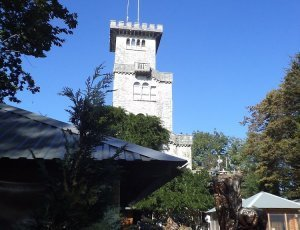 Гора Ахун смотровая башня