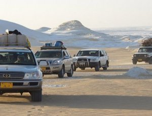 Сафари по пустыне