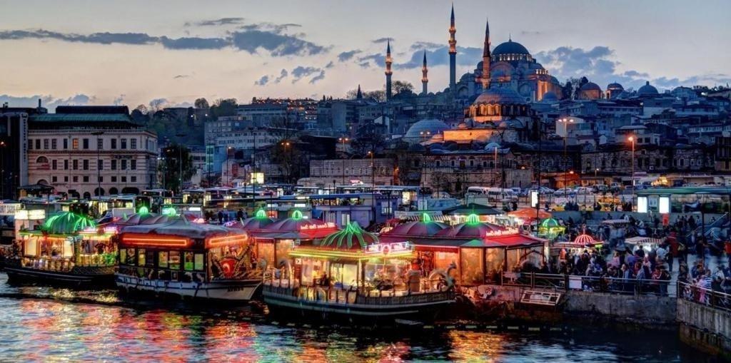 Прогулки по городу Стамбул