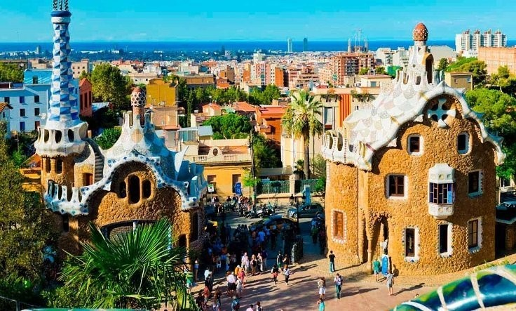 Про наше путешествие в Барселону (Испания)