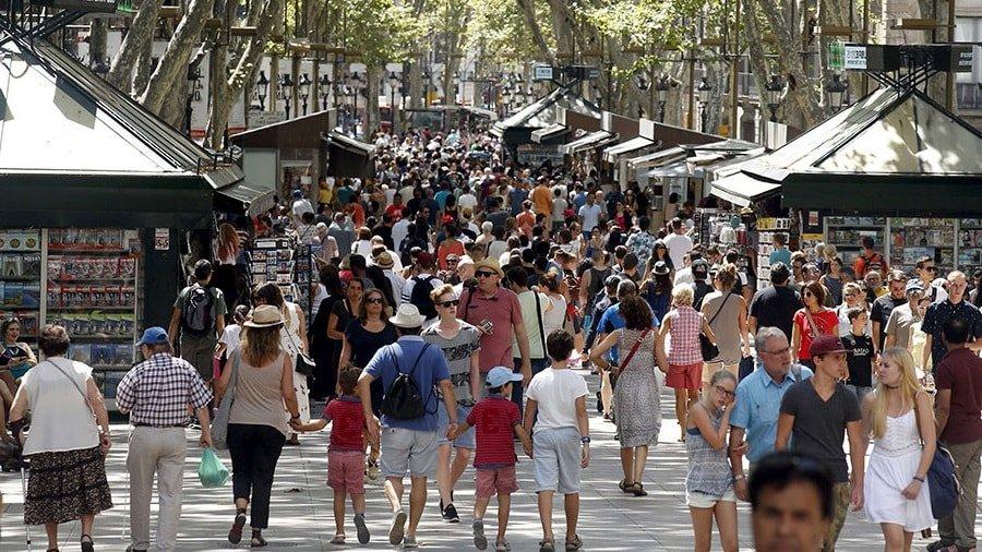 Местные жители Барселоны
