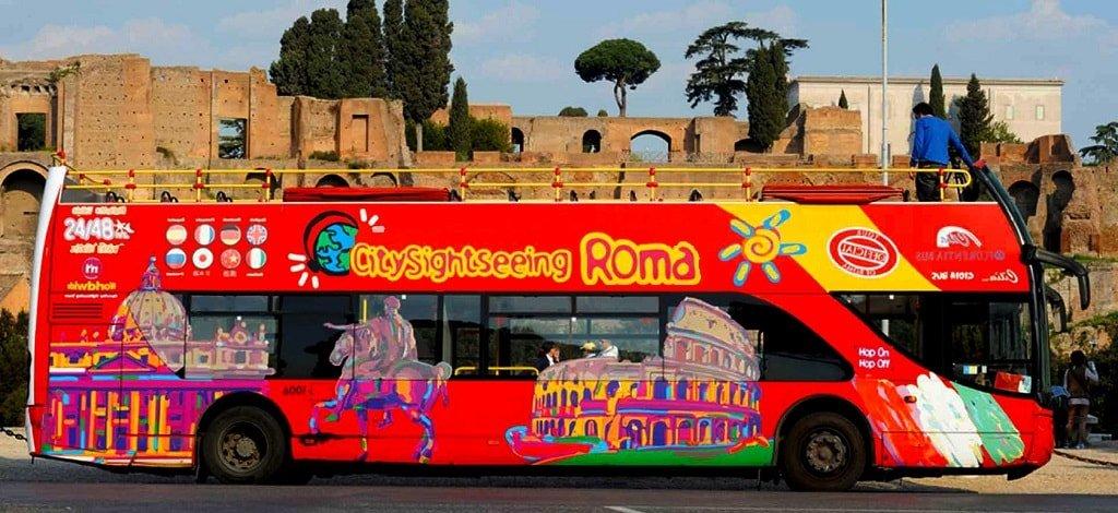 Автобусный тур по Риму