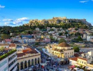 Как мы отдыхали зимой в Афинах (Греция)