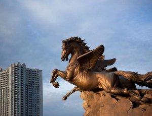 Статуя Чоллима