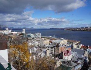 Фуникулёр в Старом Квебеке