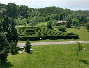 Парк Domaine de Maizerets