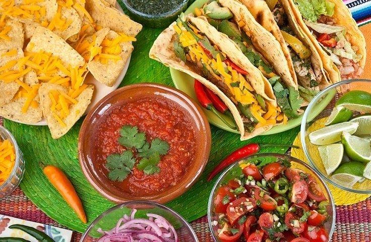 Мексиканская кухня в Канкуне