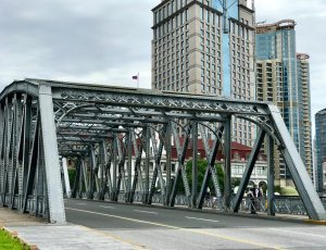 Мост Вайбайду (Waibaidu Bridge)