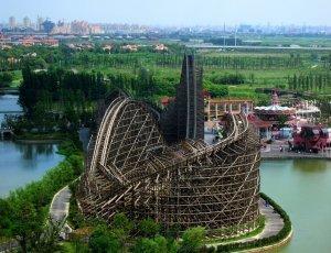 Парк аттракционов «Долина счастья» (Happy Valley Shanghai)