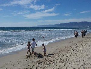 Пляж Санта-Моника