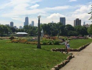 Ботанический сад Линкольн парка