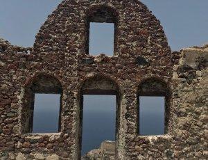 Руины византийского замка