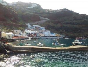 Пляж Ammoudi