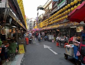 Ночной рынок Килунг Мяокоу