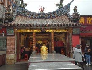 Храм Ся-Хая бога города Тайбэй