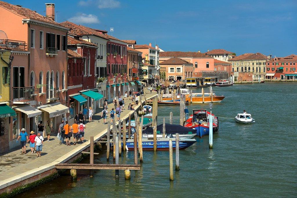 мурано остров в италии фото одной