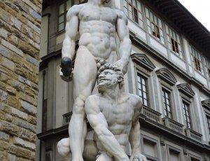 Фото Скульптура «Геркулес победивший Какуса»