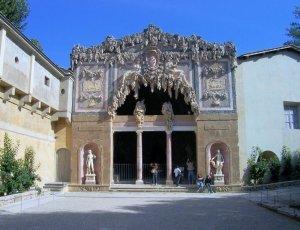 Грот дель Буонталенти в садах Боболи