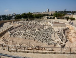 Фото Модель Иерусалима на Святой Земле