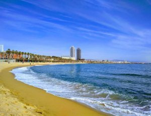 Фото Пляж Барселонета