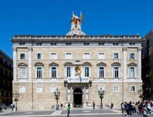 Дворец правительства Каталонии Женералитат
