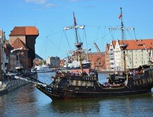 Фото Пиратский корабль «Черная жемчужина»