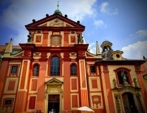 Фото Базилика Святого Георгия в Праге