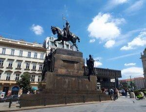 Фото Памятник Святому Вацлаву в Праге