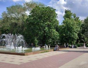 Фото Кольцовский сквер