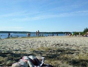 Пляж турбазы «Пески»
