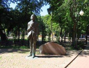Памятник О.Э. Мандельштаму