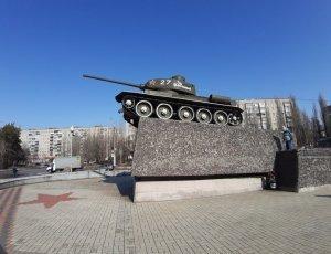 Фото Памятник танку Т-34