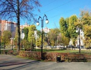 Фото Комсомольский сквер в Воронеже