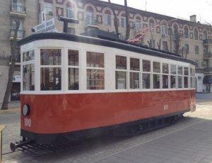 Памятник Волгоградскому Трамваю