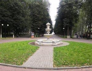 Центральный парк культуры и отдыха города Владимир